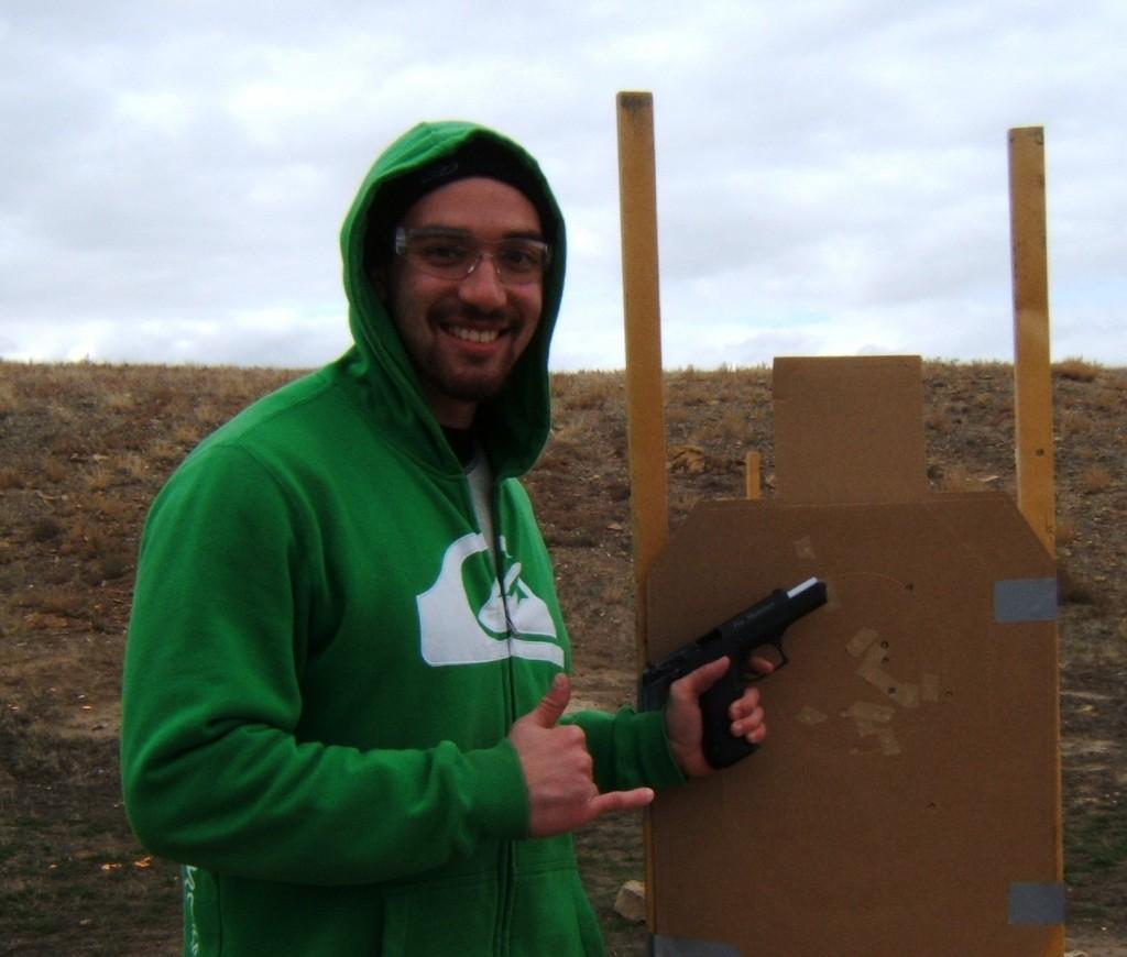 Heavenly Firearm Training - Hawaiian Hang Loose - Elephant Mountain Firearm Training Grand Junction Colorado Masterson