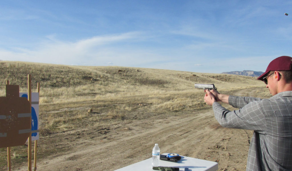 defensive pistol refresher - elephant mountain firearm training - grand junction colorado - masterson